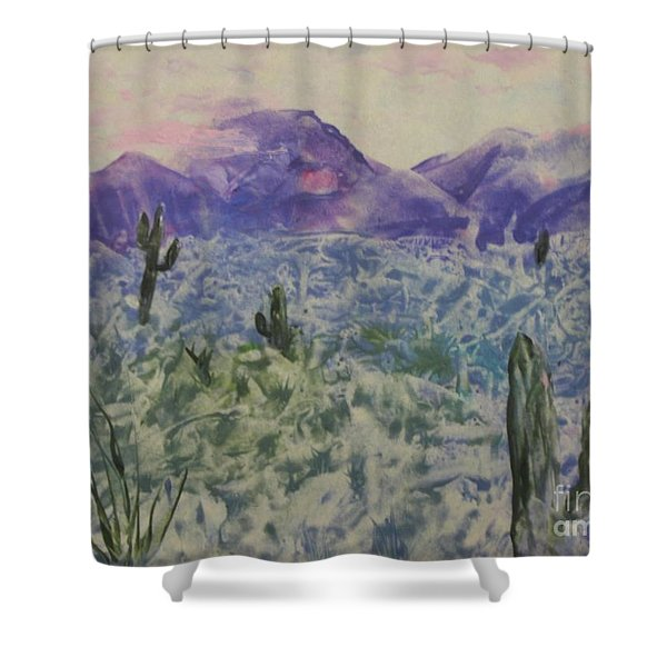 In Quietness And Trust Shower Curtain