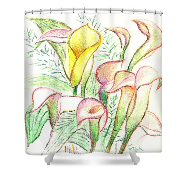 In The Golden Afternoon Shower Curtain