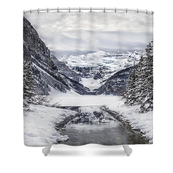 In The Heart Of The Winter Shower Curtain