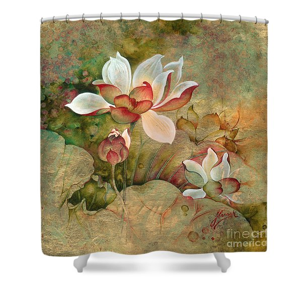 In The Lotus Land Shower Curtain