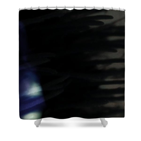 In The Shadows Of Doubt  Shower Curtain