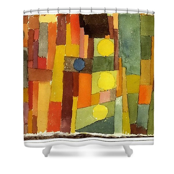 In The Style Of Kairouan Shower Curtain