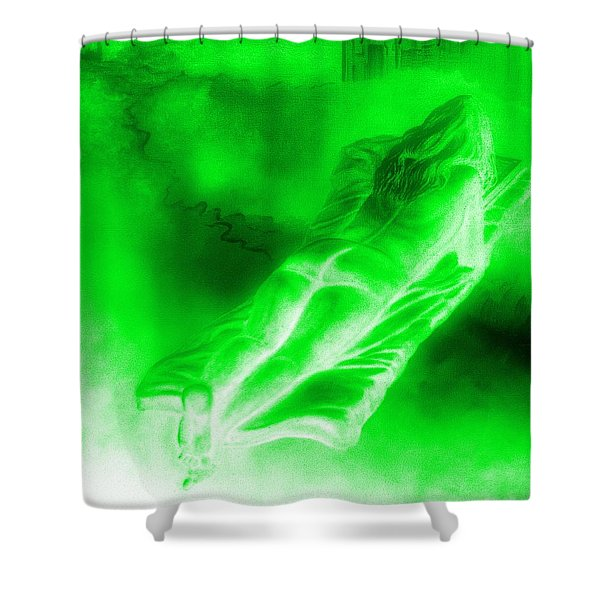 In The Transformation Of Books Shower Curtain
