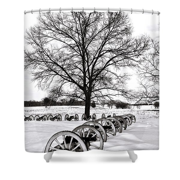 In Time Of Peace  Shower Curtain