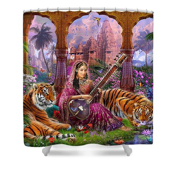 Indian Harmony Shower Curtain