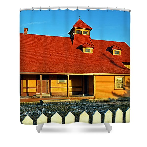 Indian River Lifesaving Station Museum Shower Curtain