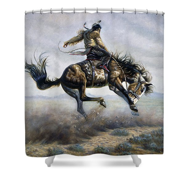 Indian Style Shower Curtain