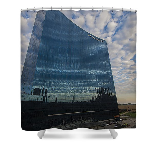 Indianapolis Indiana Jwmarriott Shower Curtain