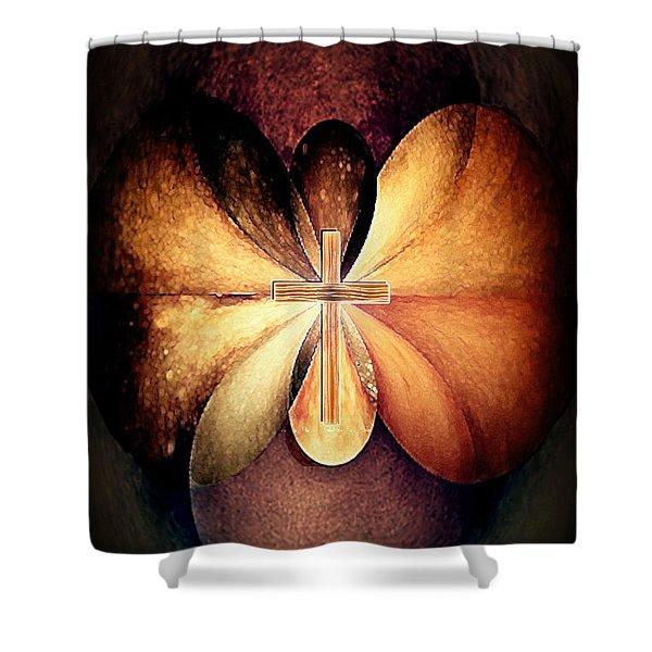 Infinite Serenity Shower Curtain