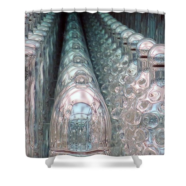 Infinity Trail Shower Curtain