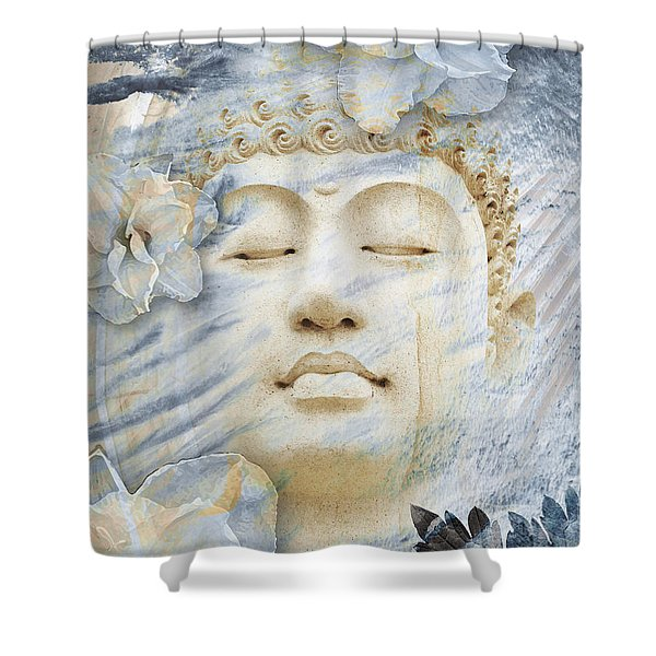 Shower Curtain featuring the digital art Inner Infinity by Christopher Beikmann