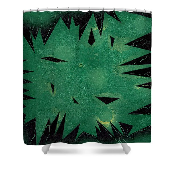 Inner Space Shower Curtain
