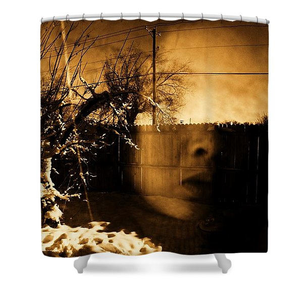Innocents Reflection  Shower Curtain