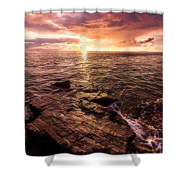 Inspiration Key Shower Curtain