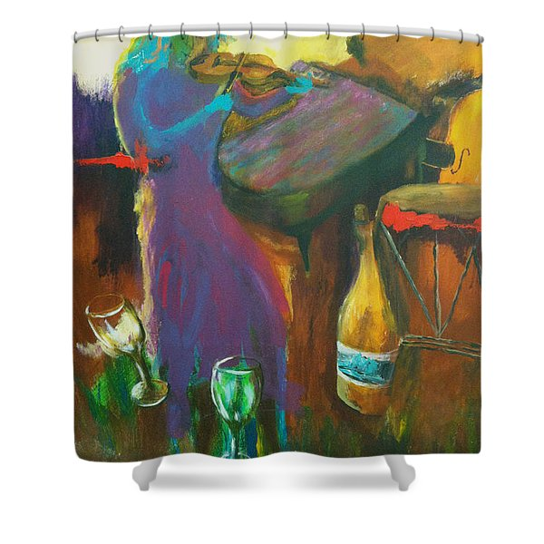 Inspired Songs Shower Curtain