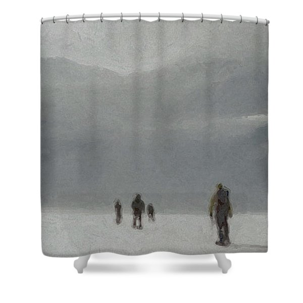 Insurmountable Shower Curtain