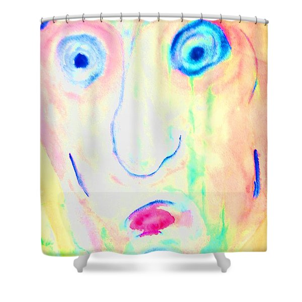 An Interesting Taste And A Funny Smell  Shower Curtain