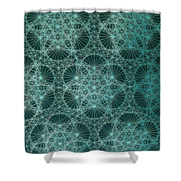 Interference Shower Curtain