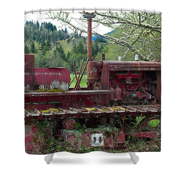 International Harvester Shower Curtain