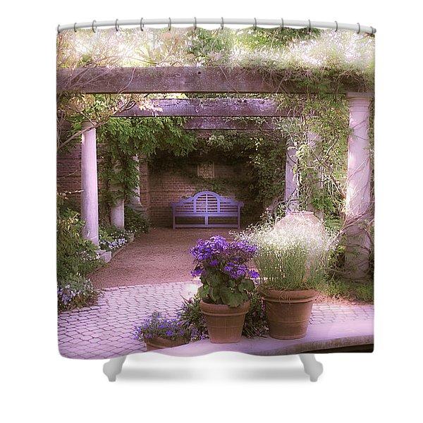 Intimate English Garden Shower Curtain