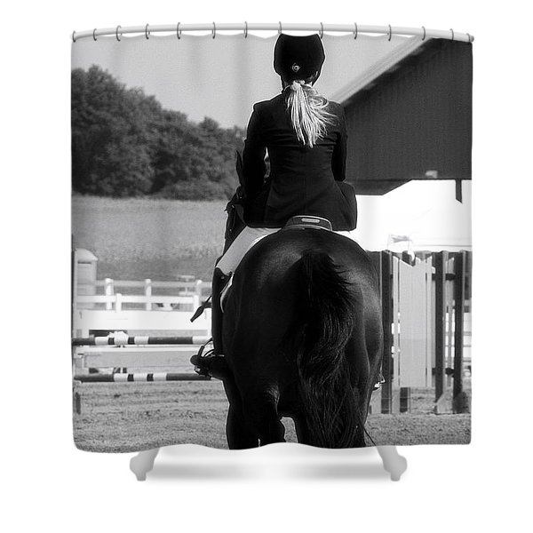 Into The Ring Shower Curtain