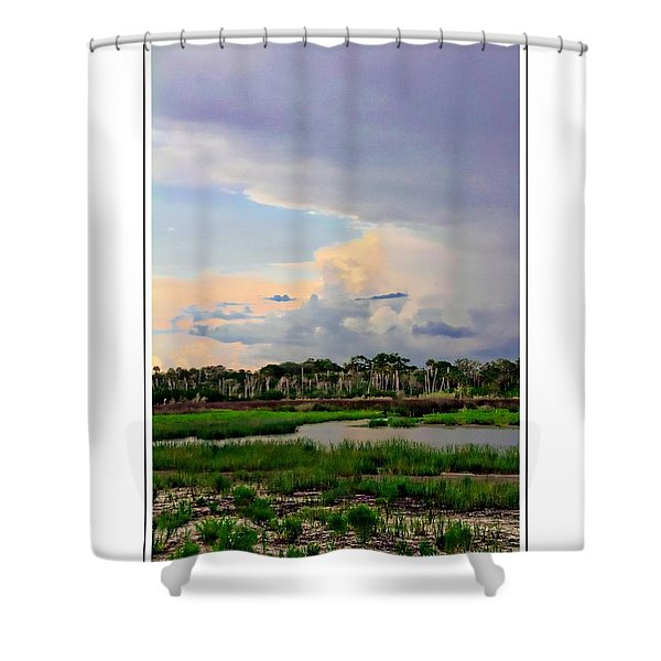 Intracoastal Colours Shower Curtain