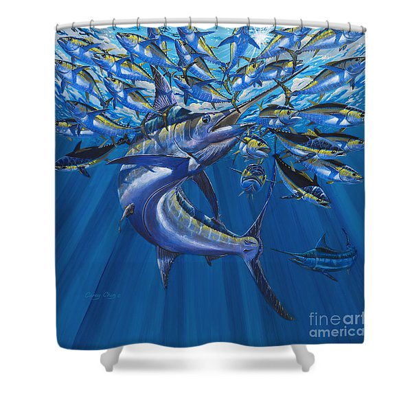 Intruder Off003 Shower Curtain