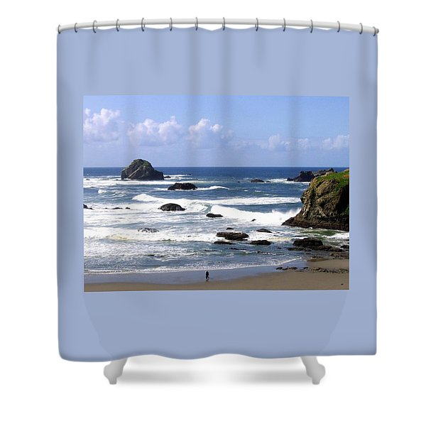 Invigorating Sea Air Shower Curtain