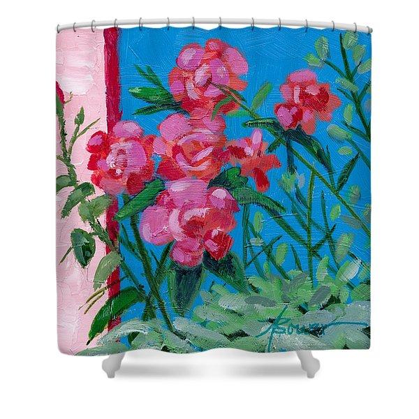 Ioannina Garden Shower Curtain