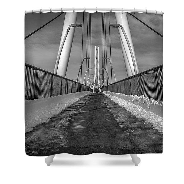 Ipfw Bridge Shower Curtain