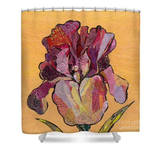 Iris V  - Series V Shower Curtain