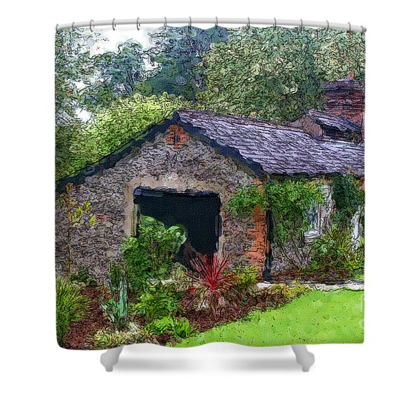 Irish Cottage Shower Curtain