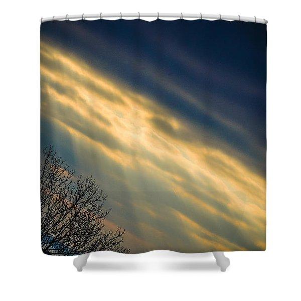 Irish Sunbeams Shower Curtain