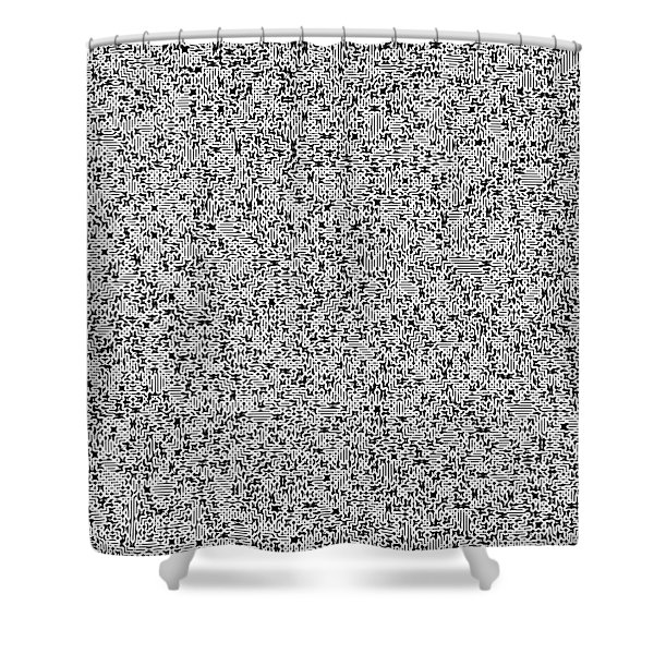 Irrational Shower Curtain
