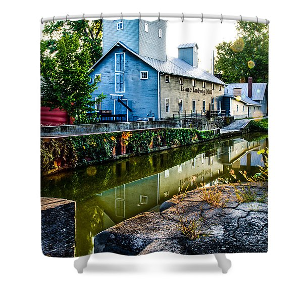 Isaac Ludwig Mill Shower Curtain
