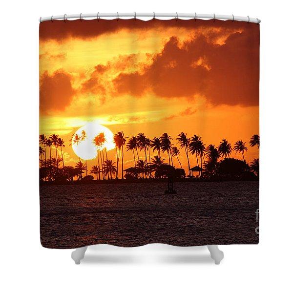 Isla De Leprosos Shower Curtain