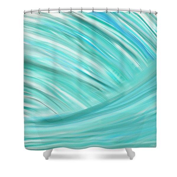 Island Time Shower Curtain