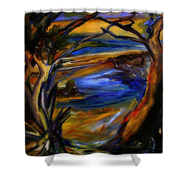 Island Waters St. Kitts Shower Curtain