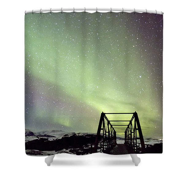 It Came Upon A Midnight Clear Shower Curtain
