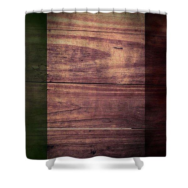 Italian Flag I Shower Curtain