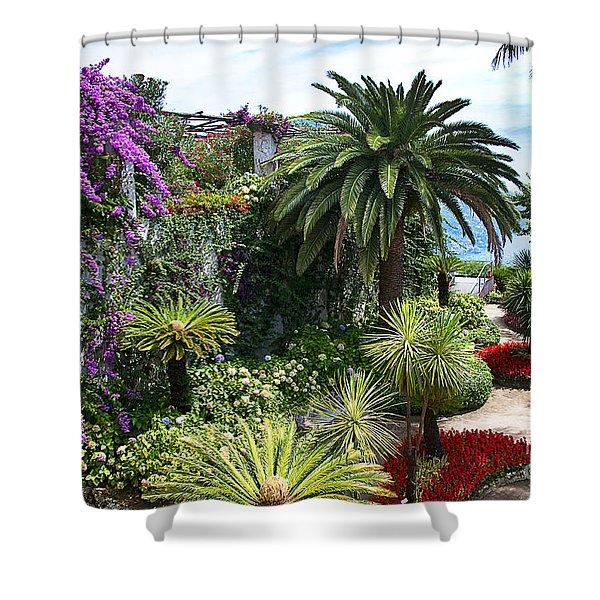 Italian Garden Shower Curtain