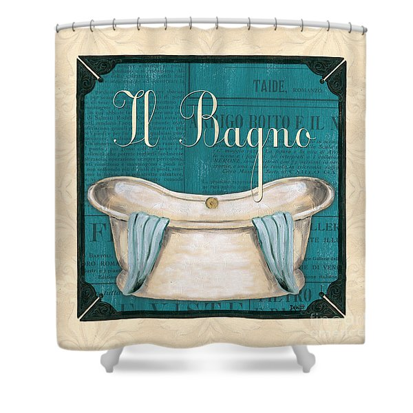 Italianate Bath Shower Curtain