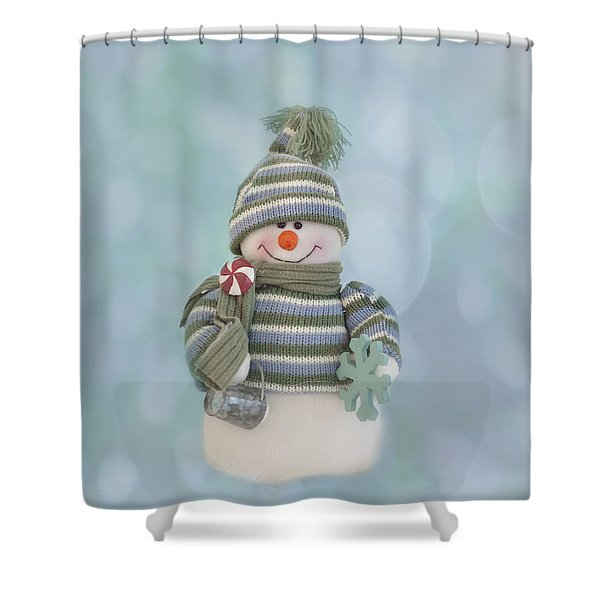 It's A Holly Jolly Christmas Shower Curtain