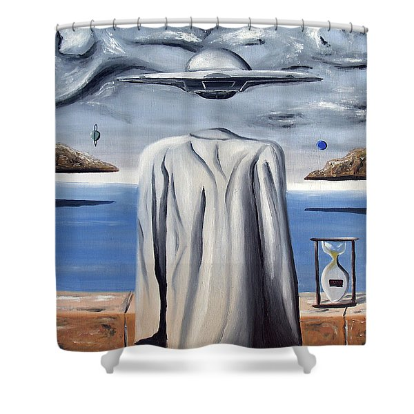 Its All In Your Head Shower Curtain