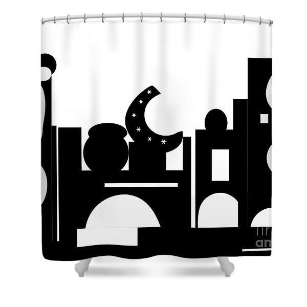 Its Bazaar Shower Curtain