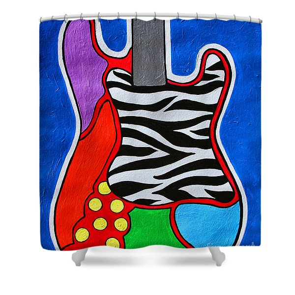 It's Electric Acrylic By Diana Sainz Shower Curtain