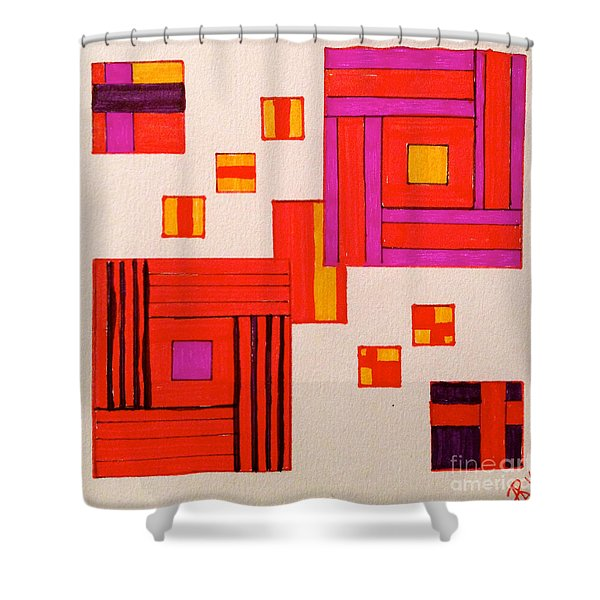 It's Okay To Be A Square Shower Curtain