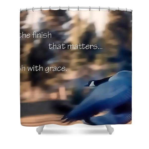 It's The Finish 21169 Shower Curtain