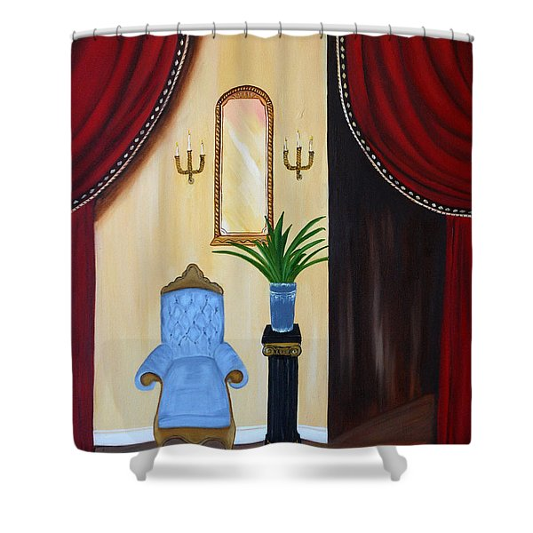 Its Time To Reflect Shower Curtain