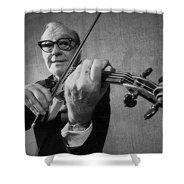 Jack Benny Farewell Shower Curtain